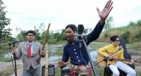 """Three friends form a mor lam band and dream of introducing this northern sound to the world in """"Morlam Mania"""" coming to screens ."""