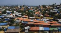 File photo : A general view of a refugee camp for Rohingya is pictured in Ukhiam, Bangladesh.//AFP