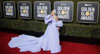 Lady Gaga arrives for the 76th annual Golden Globe Awards ceremony at the Beverly Hilton Hotel, in Beverly Hills, California, USA, 06 January.//EPA-EFE