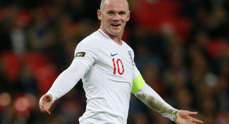 File photo : England's striker Wayne Rooney