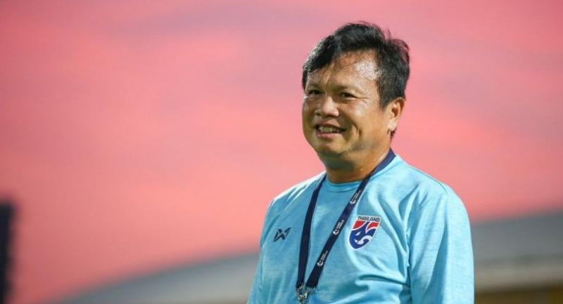 Thailand's new acting coach Sirisak Yodyadthai