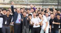 File photo : Bangkok Christian College students on January 8.