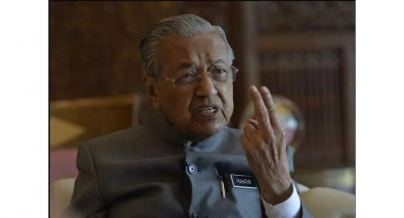 File photo : Mahathir Mohamad//Sin Chew Daily