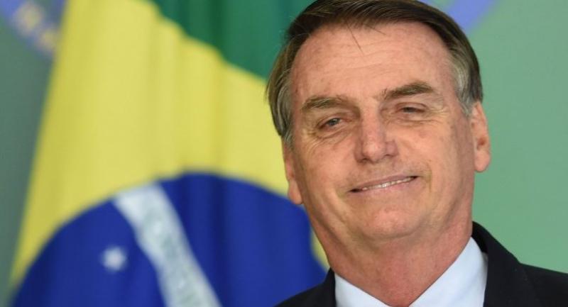 File photo : Brazilian President Jair Bolsonaro//AFP