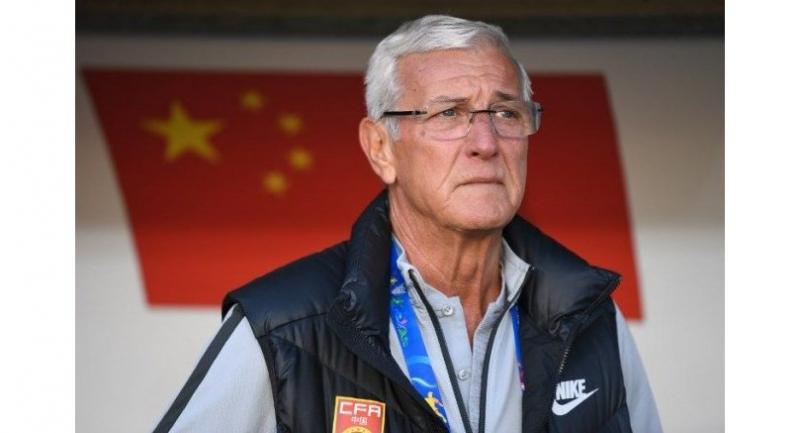 China's coach Marcello Lippi.