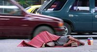 File photo: Homeless in Bangkok