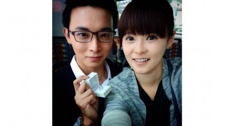 Actress Jayley Woo posted several Instagram stories revealing details about her relationship with Mr Pang for the first time, saying that they had been waiting until they got married to go public.PHOTO: INSTAGRAM / ALOYPANG .