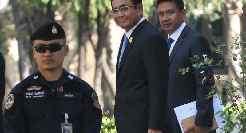 File photo : Prime Minister Prayut Chan-o-cha//Vorawit Pumpuang