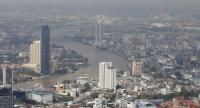 A general view of the capital city with the Chao Phraya river flowing through in Bangkok, Thailand, 16 November 2018, that show number of condominium projects around the river. // EPAEFE