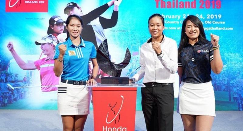 Pannarat Thanapolboonyaras, Benyapa Niphatsophon and Pajaree Anannarukarn will be among eight Thai golfers vying to become the first winner of the Honda LPGA Thailand.