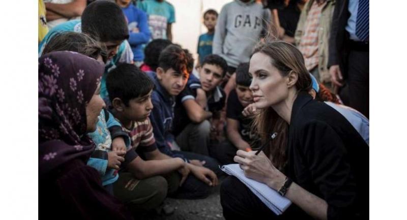 File photo : Angelina Jolie//UNHCR