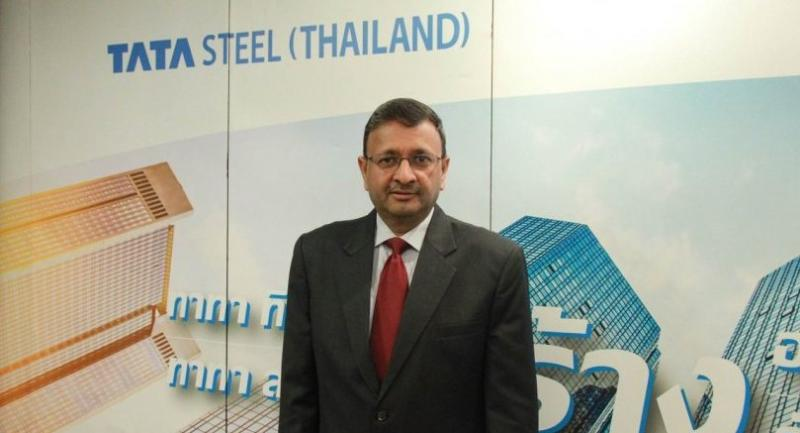 Rajiv Mangal, president and CEO of Tata Steel (Thailand)