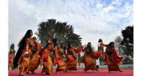 Several dances peculiar to Northeast India will be performed at the festival, among them the Bagrumba.