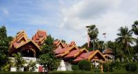 "Wat Sri Rong Muang was one of the Lampang locations where the TV drama series ""Rak Nakara"" was filmed."