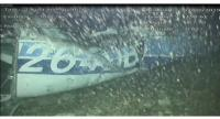 A handout photo shows the wreckage of the light aircraft N264DB which Argentinian soccer player Emiliano Sala was travelling in, at the bottom of the English Channe.//EPA-EFE