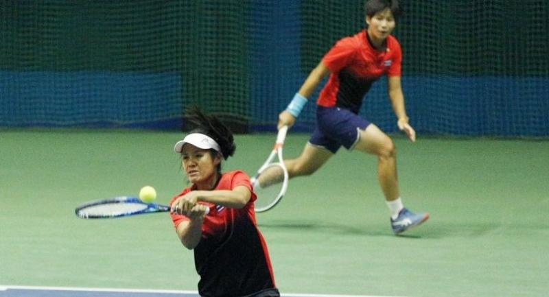 Peangtarn Plipuech and Nudnida Luangnam carry Thai hopes in Saturday's Fed Cup relegation playoff against Indonesia.