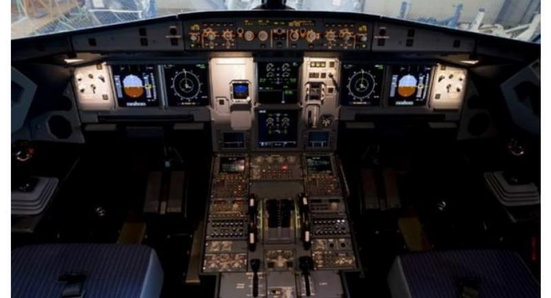 File photo : cockpit//AFP