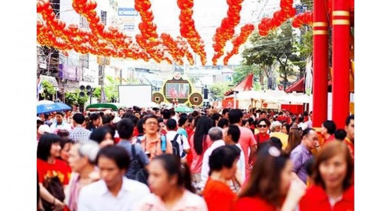 Chinese New Year, Yaowarat Road, Bangkok. Photo: iStock.com/justhavealook