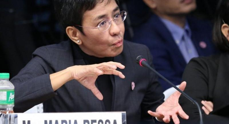 File photo : Maria Ressa