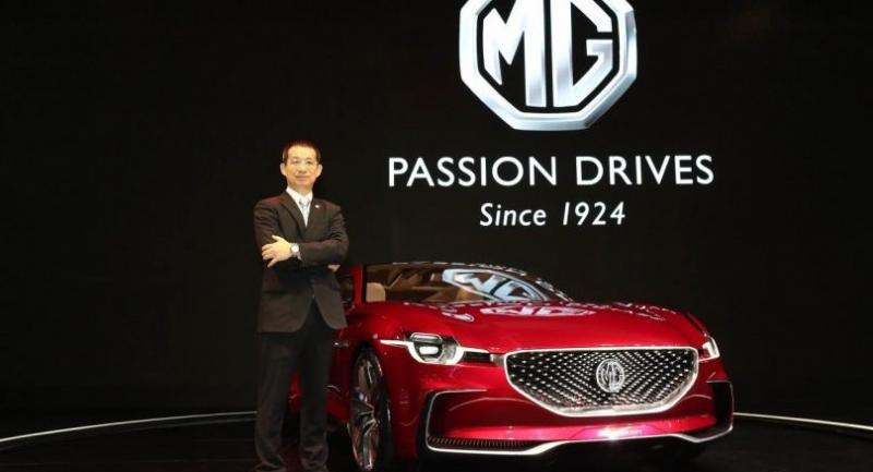 Pongsak Lertruedeewattanavong, vice president of MG Sales (Thailand) Co Ltd