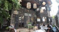 The century-old, gingerbread-style wooden house Baan Kanom Pang Khing has been given a new lease of life as a cafe.