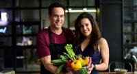 NASA scientist-turned-nutrition expert Ray Cronise and registered dietician Julieanna Hever recommend a whole food, plant-based lifestyle for a longer and healthier life. / photo courtesy of Pasut Ratanabanangkoon