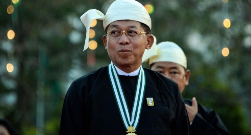 File photo : Myanmar military commander-in-chief Senior General Min Aung Hlaing//AFP
