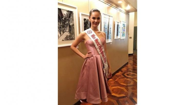 Catriona Gray greets the Filipino-American community in New York. JMJ MEDIA/Francesca Paloma