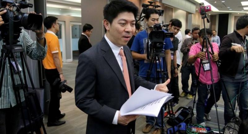File photo : Court of Justice spokesman Suriyan Hongwilai