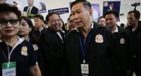 File photo : Sereepisut Temeyavej, leader of Seree Ruam Thai Party