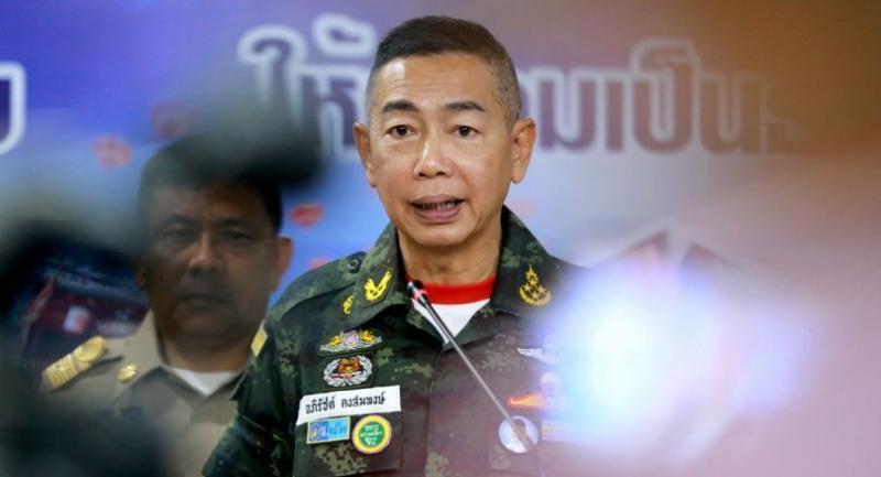 File photo: Army chief General Apirat Kongsompong