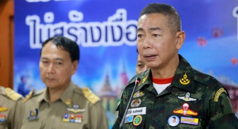 File photo : Army Commander in Chief General Apirat Kongsompong