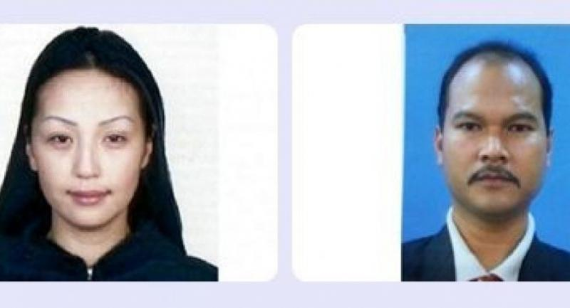 A combo photo shows Mongolian Altantuya Sharibuu (left) and Sirul Azhar Umar.