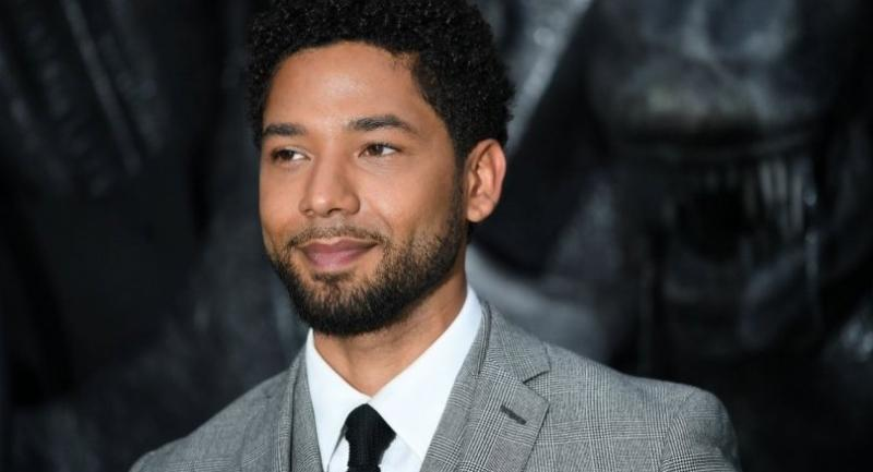 File photo : Jussie Smollett//AFP