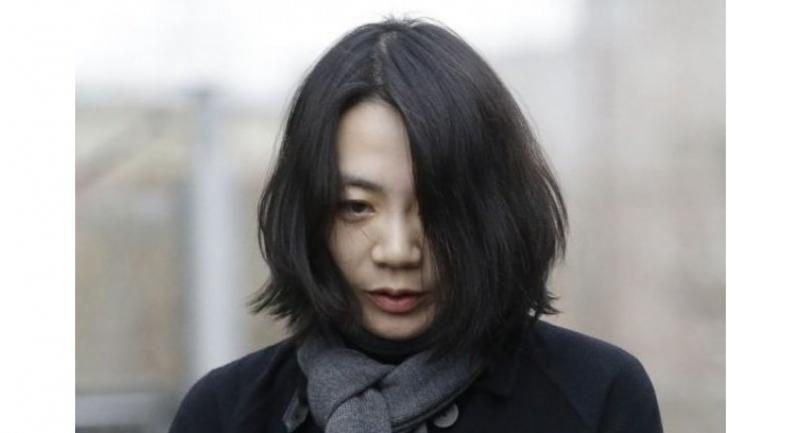 A Dec 12, 2014 file photo of Cho Hyun-ah, the Korean Air heiress involved in the nut rage incident.//AFP