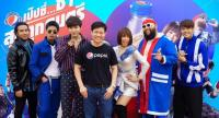 Somchai Ketchaikosol, centre, marketing director – beverages, PepsiCo Services Asia Limited, together with well-known music artists at the launch of