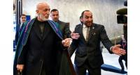 Former Afghan president Hamid Karzai took part in talks in Moscow with the Taliban in February