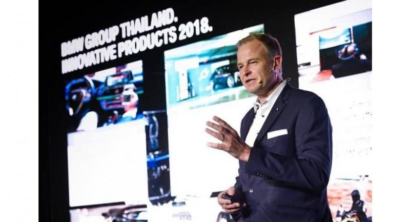 Christian Wiedmann, president of BMW Group Thailand