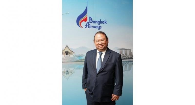 Puttipong Prasarttong-Osoth, president of Bangkok Airways Plc.