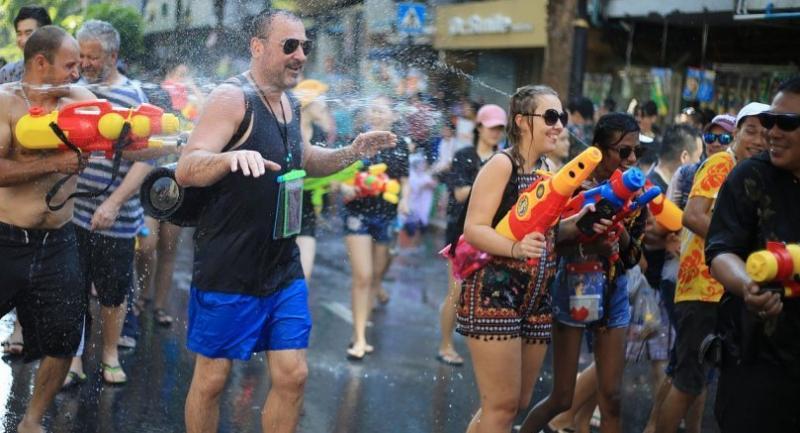 File photo: Songkran festival