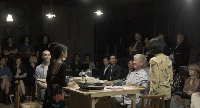 Three generations of women gather at Grandma's house for some great food, a heartfelt discussion and interesting revelations.(Photos/ NUNi Productions)