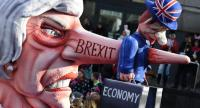 British MPs will vote on a draft Brexit deal on Tuesday aimed at ensuring a smooth exit from the European Union to be followed by a transition period that could last until 2022. Photo/AFP