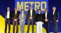 Metro executives and guests of honour at the grand launch ceremony of Metro Wholesale Myanmar Ltd in Yangon.