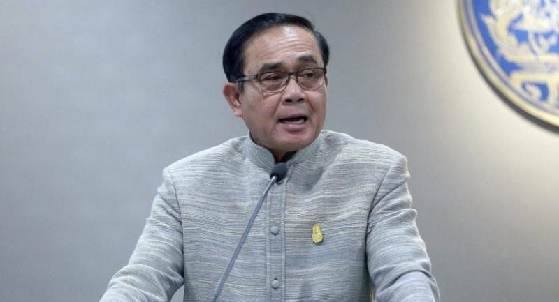 File photo: Prime Minister Prayut Chan-o-cha