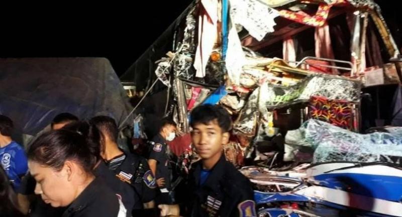 PHOTO: Sawang Buri Phra Chaai rescue workers