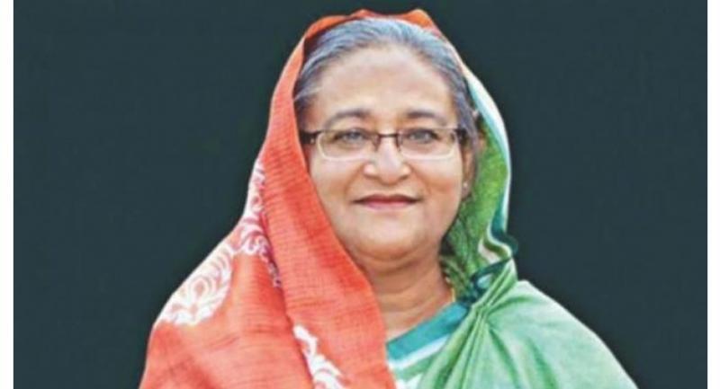 File photo : Bangladesh's Prime Minister Sheikh Hasina