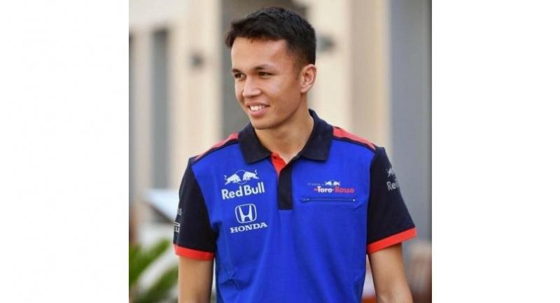 Thai driver Alex Albon