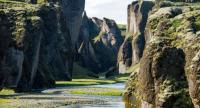 Fjadrargljufur Canyon, a popular tourist attraction in Iceland's southeast, has been temporarily closed because a spike in foreign visitors was ruining the vegetation.