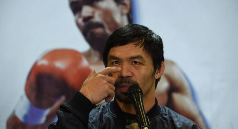 Philippine boxing icon Manny Pacquiao / AFP