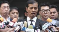 File photo: Senior Democrat politician Thaworn Senneam